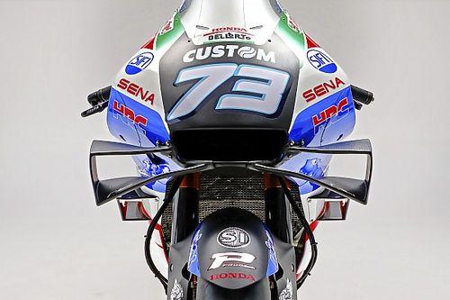 Fotos: así son los nuevos colores de la Honda de Alex Márquez