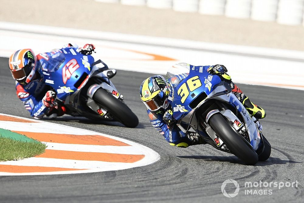 "Quartararo admits Suzuki riders look ""really unbeatable"""