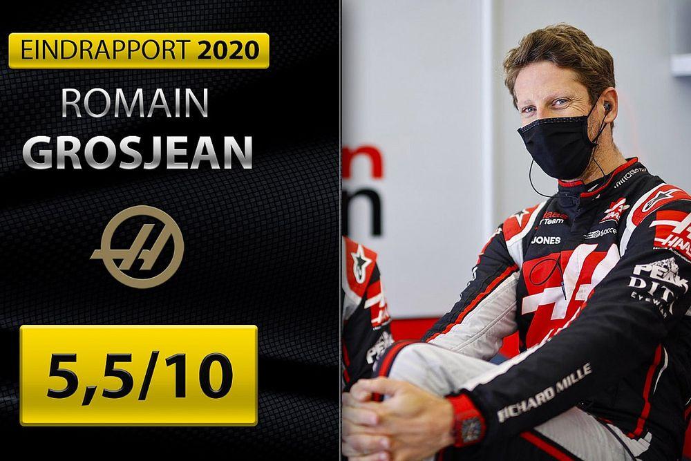 Eindrapport Romain Grosjean: F1-pensioen met gemengde gevoelens
