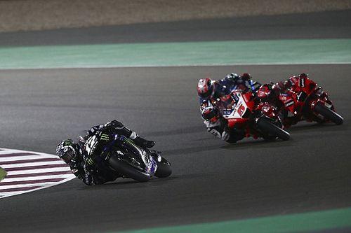 Fotos: alegrías y decepciones en la carrera de MotoGP en Qatar