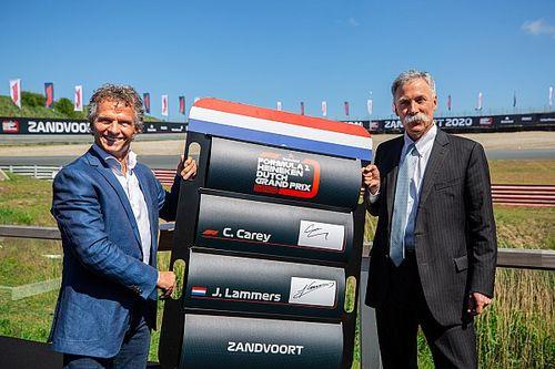 Zandvoort ne veut pas payer pour accueillir la F1 à huis clos
