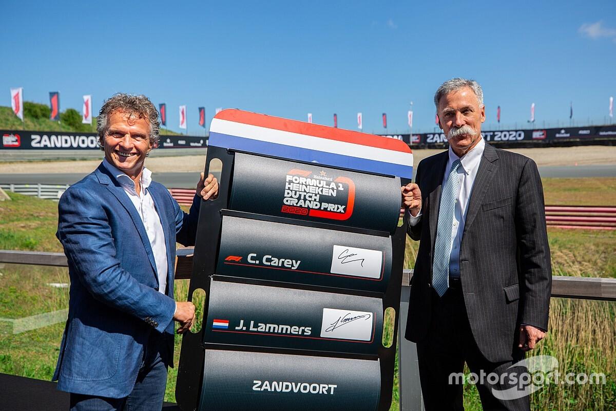 """Zandvoort: """"Seyircisiz F1 yarışının bize bir maliyeti olmamalı"""""""