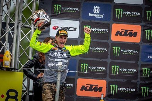"""Eerste Grand Prix-podium voor Davy Pootjes: """"Onbeschrijfelijk"""""""