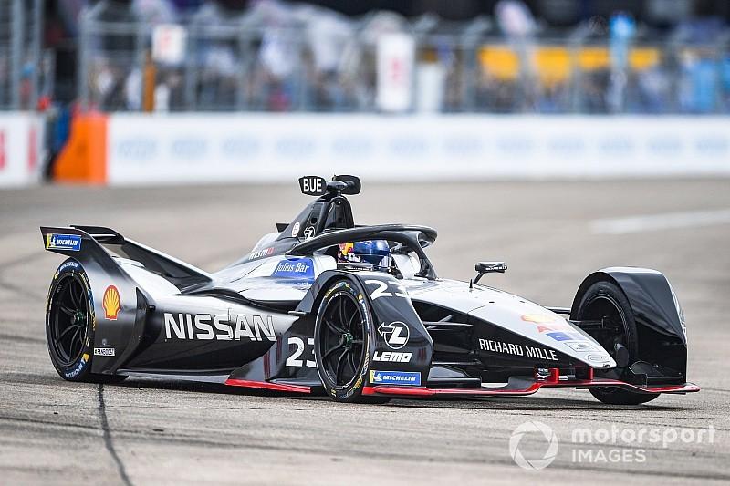 Diaporama : les suisses Buemi et Mortara dans le E-Prix de Berlin en Formule E