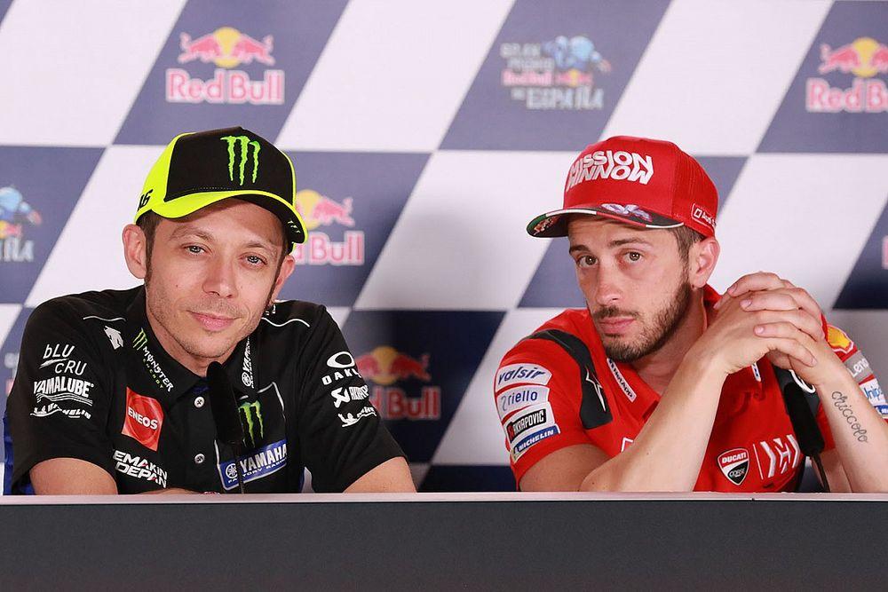 Rossi face à Dovizioso, un duel qui n'aura pas lieu en DTM