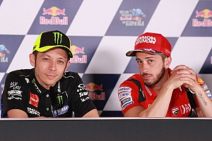 DTM wanted to pit Rossi against Dovizioso at Misano