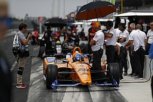 """Brown asume la culpa de los """"estúpidos"""" errores de McLaren en la Indy 500"""