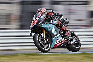 MotoGP, Assen, Libere 3: Quartararo beffa Petrucci, Rossi finisce in Q1