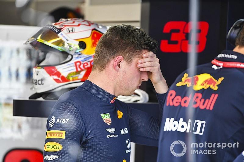 Verstappen no se explica cómo acabó contra el Muro de los Campeones