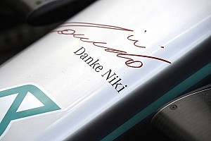 Mercedes to sport Lauda tribute branding in Monaco