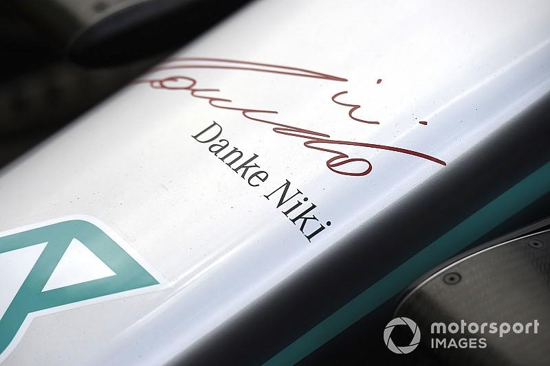 """""""Danke Niki"""" - így búcsúzik a Mercedes Laudától"""