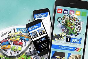 Motor1Days 2019, aprono le registrazioni online