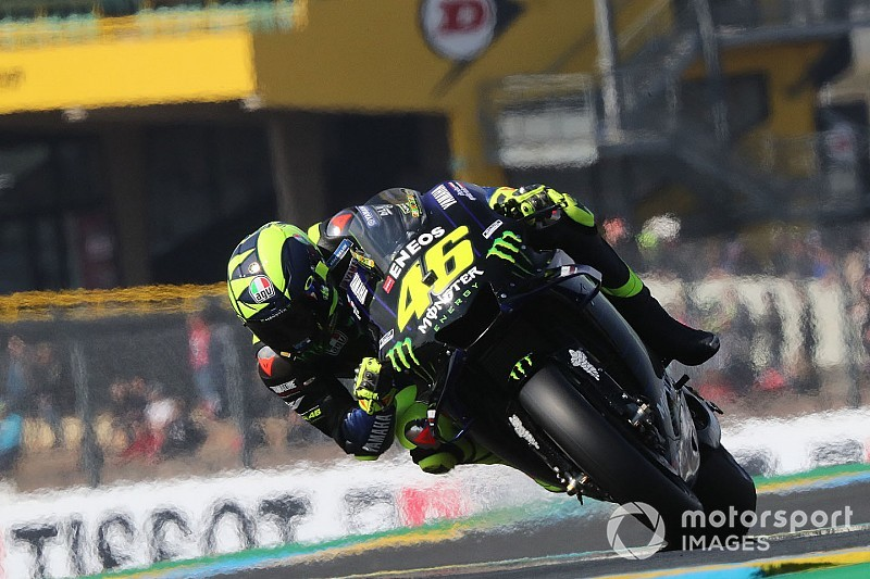 """Valentino Rossi celebra 5ª posição em Le Mans: """"arriscamos e funcionou"""""""