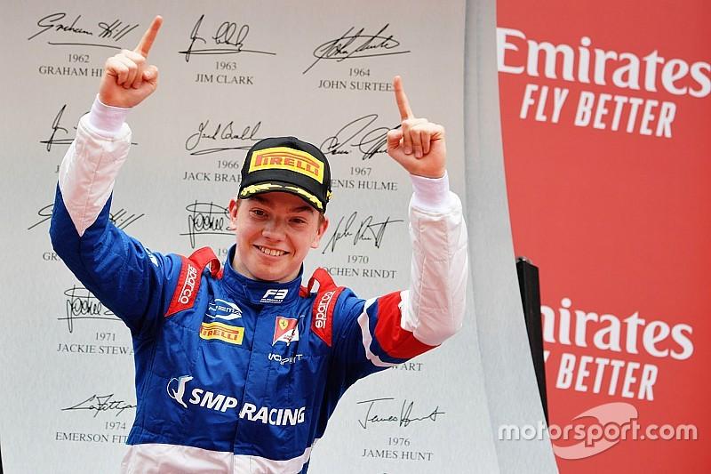 Shwartzman gana la primera carrera de la F3