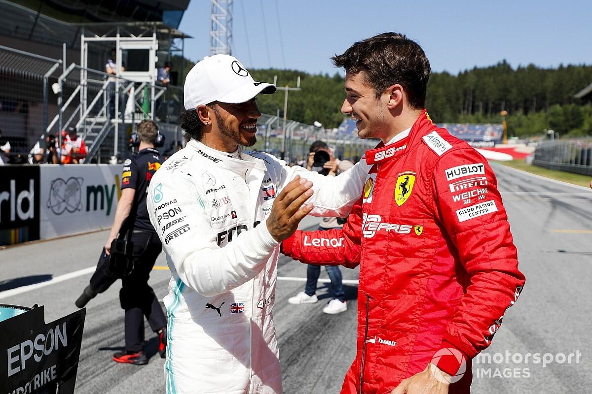 Hamilton : Nous ne sommes pas dans le rythme de Ferrari