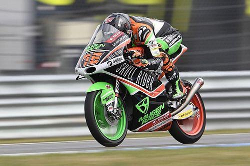 Макар Юрченко стал 7-м в квалификации Moto3 в Брно. Это его лучший результат в карьере