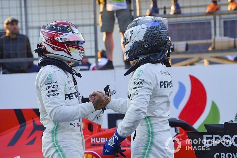 Mondiale Piloti F1 2019: Bottas torna a +1 su Hamilton, Vettel a -25