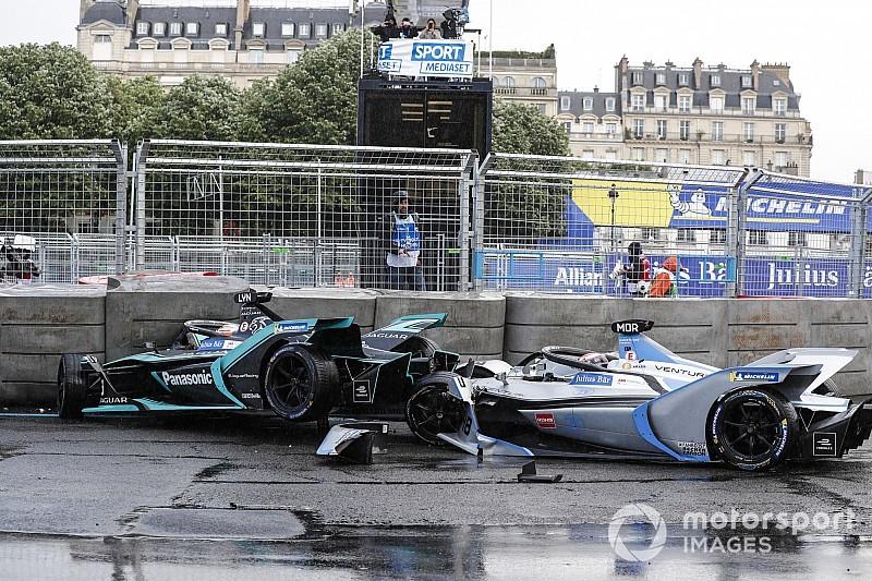 Судьи Формулы Е наказали трех гонщиков за аварии по ходу гонки в Париже