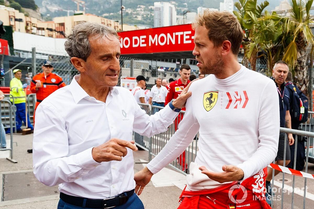 Renault ne dirait pas non à Vettel mais préfère miser sur l'avenir