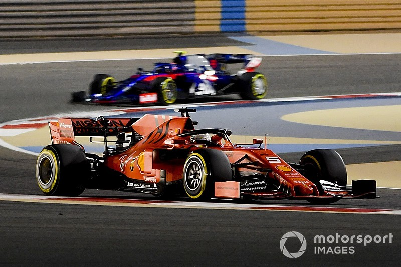 Bahrain GP: Vettel heads Ferrari 1-2 in second practice