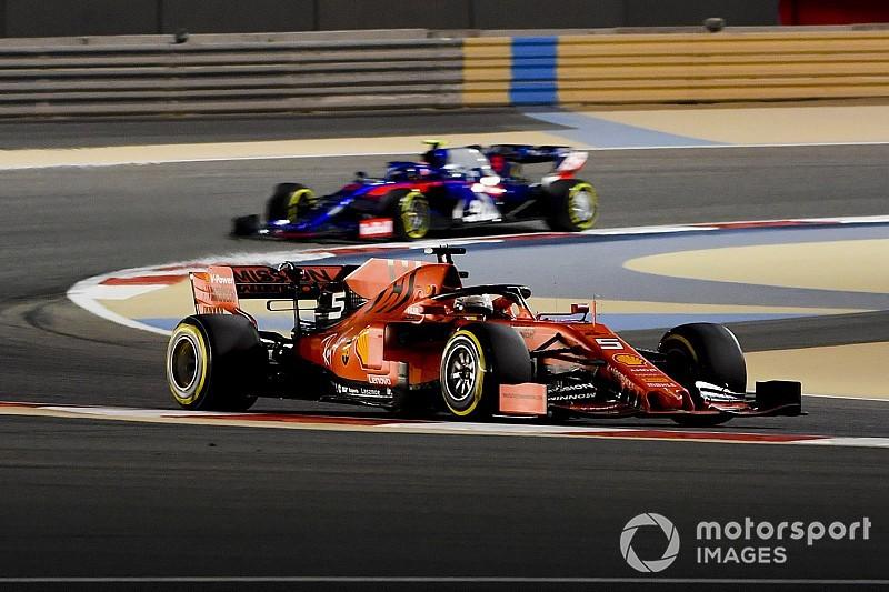 Vettel szybszy od Leclerca