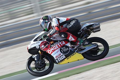 Moto3, Jerez, Libere 2: Antonelli guida la doppietta SIC58 Squadra Corse