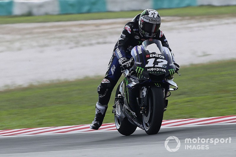 Vinales goes 0.5s clear on second day of Sepang test