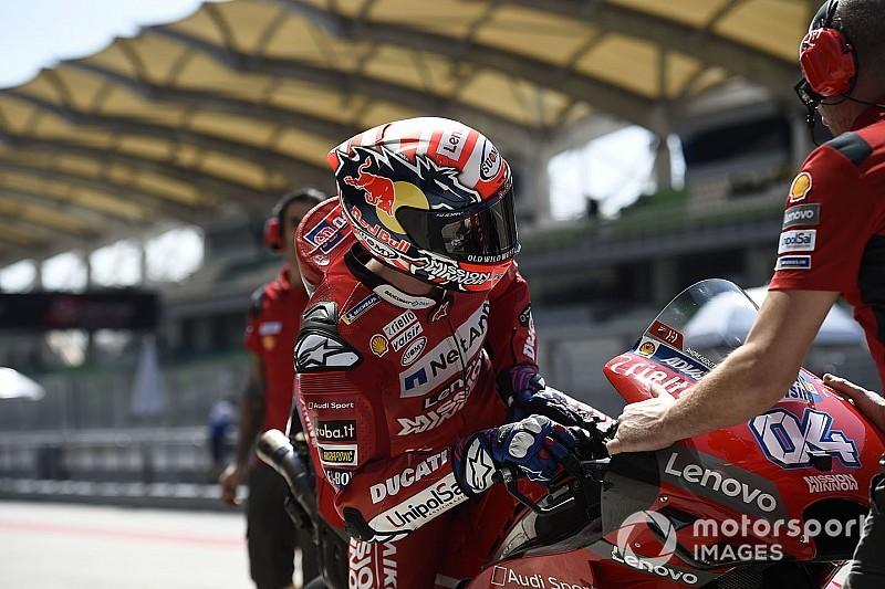 """Ducati prova la simulazione di GP in coppia, Dovizioso: """"L'ho proposta io ed è stata produttiva"""""""