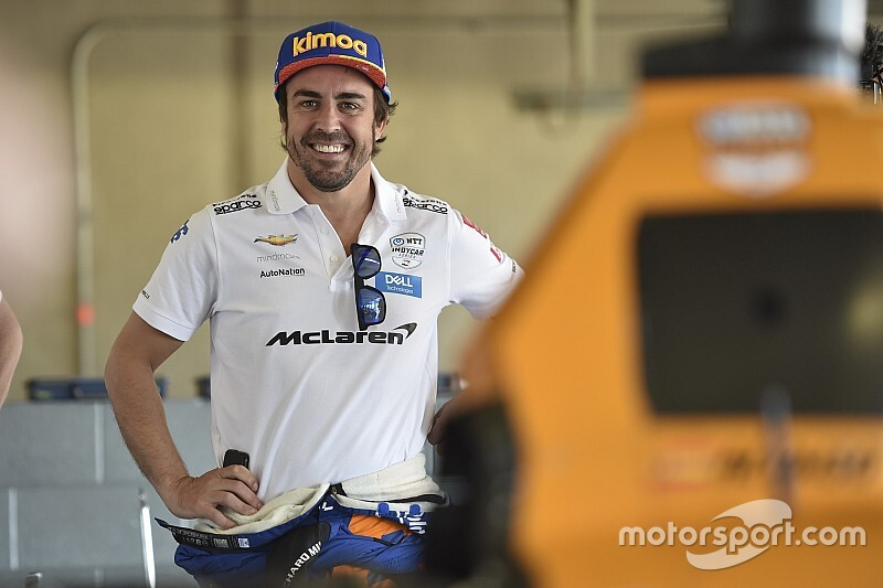 Alonso met Arrow McLaren SP in Indy 500