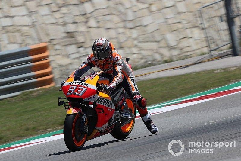 La grille de départ du GP des Amériques MotoGP