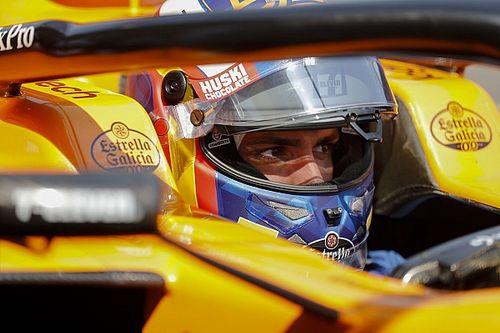 """Sainz cae en Q1: """"Hay que ser positivos y tratar de remontar"""""""