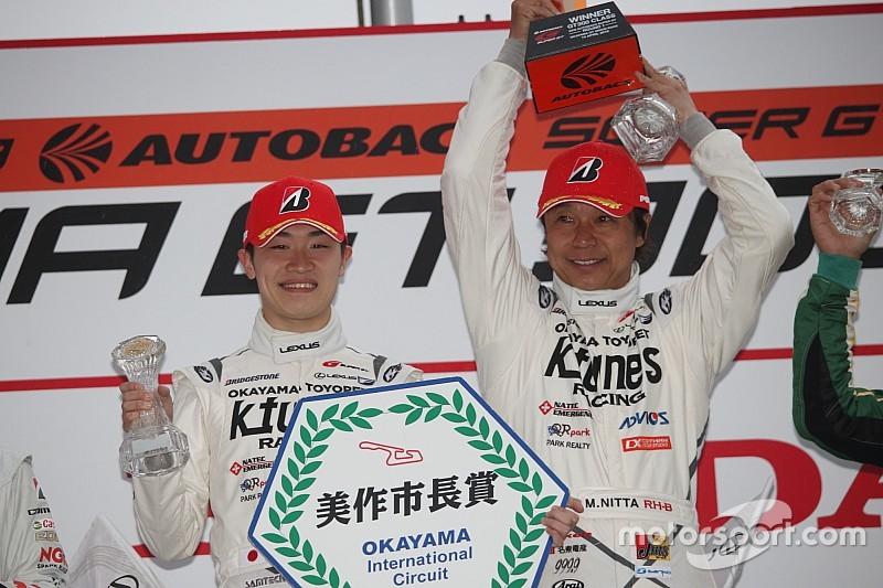 K-tunes RC F GT3の新田守男、開幕戦勝利を飾るも「今回のレースはかなり危険な状況だった」