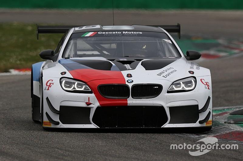 Comandini, Krohn e Johansson portano la BMW M6 in pole position a Monza