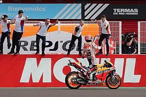 """Márquez: """"Después de lo que pasó el año pasado quería ganar la carrera así"""""""