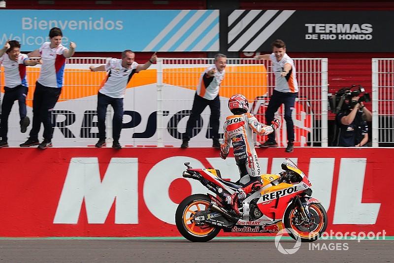 Paseo triunfal de Márquez en Argentina