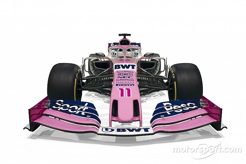 Stúdióképeken Stroll és Pérez új F1-es versenygépe