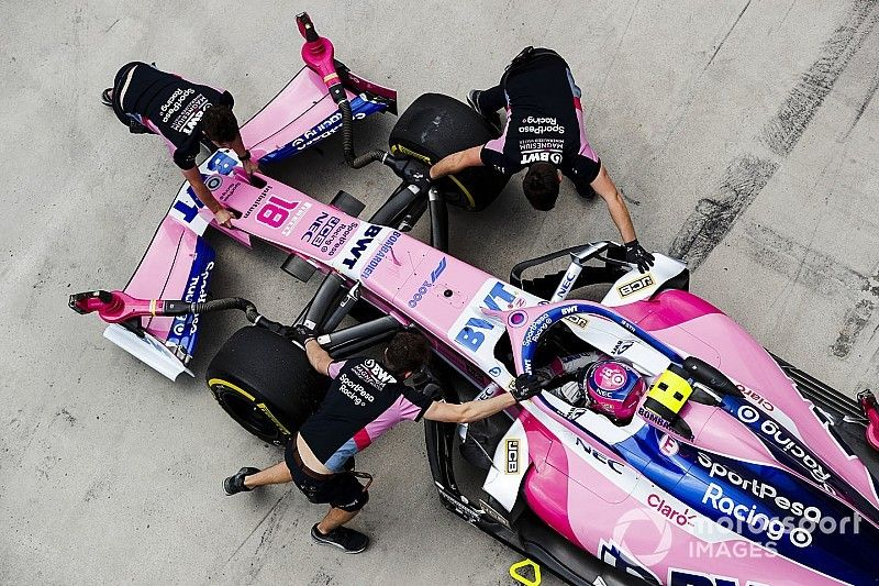 The life rescue paying off for F1's punching team