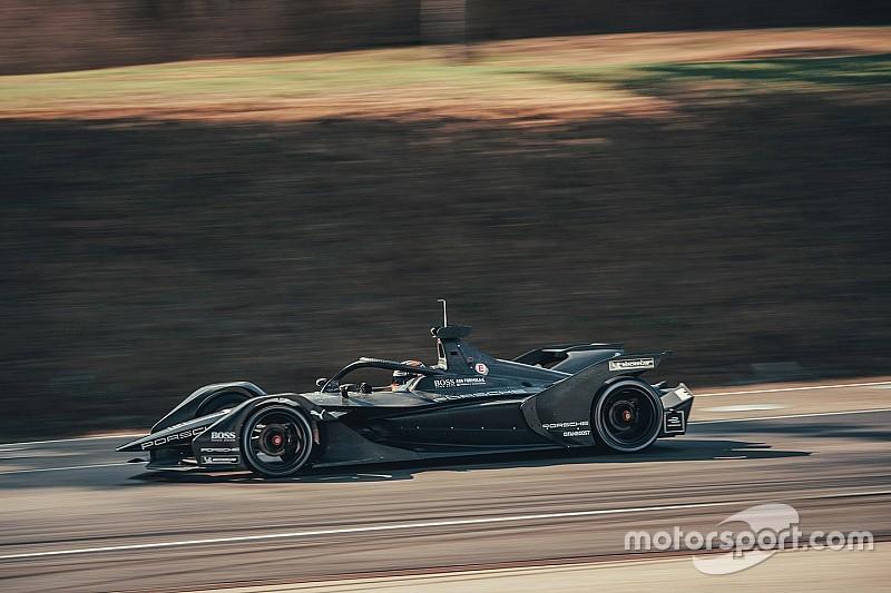 Galeri: Porsche'nin Formula E aracıyla ilk sürüşü