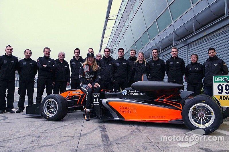 Floersch, Macau GP'deki kazasından sonra ilk kez piste çıktı