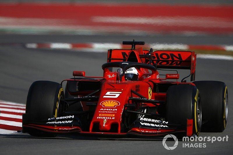 Día ocho del test en Barcelona: Ferrari en lo alto, pero recibe alertas