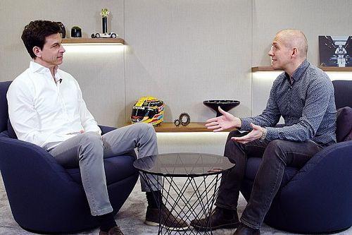 Un rare inside du QG Mercedes-AMG Petronas avec Toto Wolff