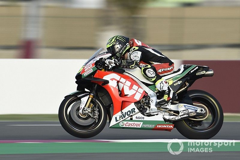 """Crutchlow """"not even close"""" to being ready for Qatar"""
