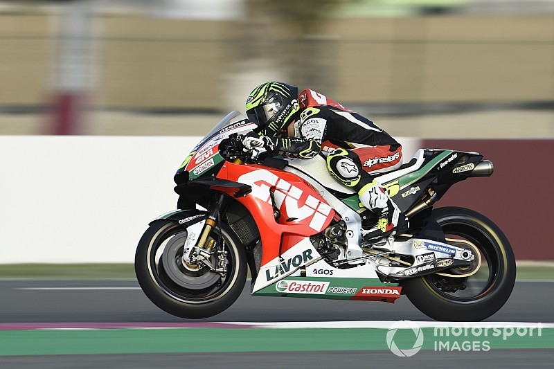"Crutchlow ""not even close"" to being ready for Qatar"
