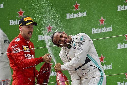 Transferts : Ferrari et les négociations Hamilton/Mercedes