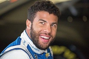 "Bubba Wallace rejects ""hype,"" now ""just living the dream"""
