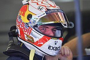 Verstappen cambió de marca de casco pese al acuerdo de Red Bull