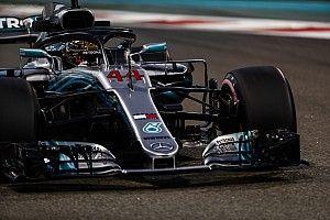 GP Abu Dhabi: Mercedes 1-2, Hamilton rebut pole terakhir 2018