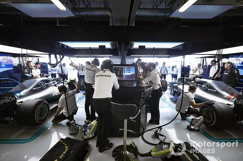 Hamilton et Mercedes déjà plongés dans le détail pour 2019