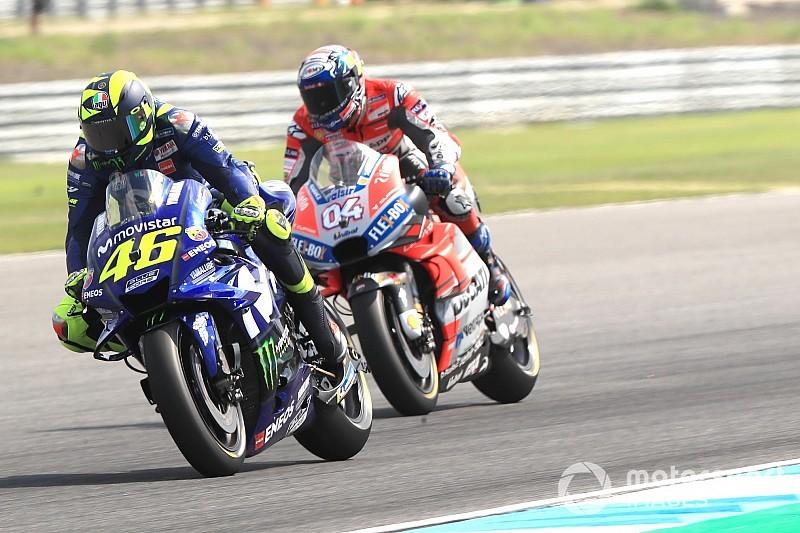 "Dovizioso : ""Je ne vois pas pourquoi Rossi ne serait pas rapide"""