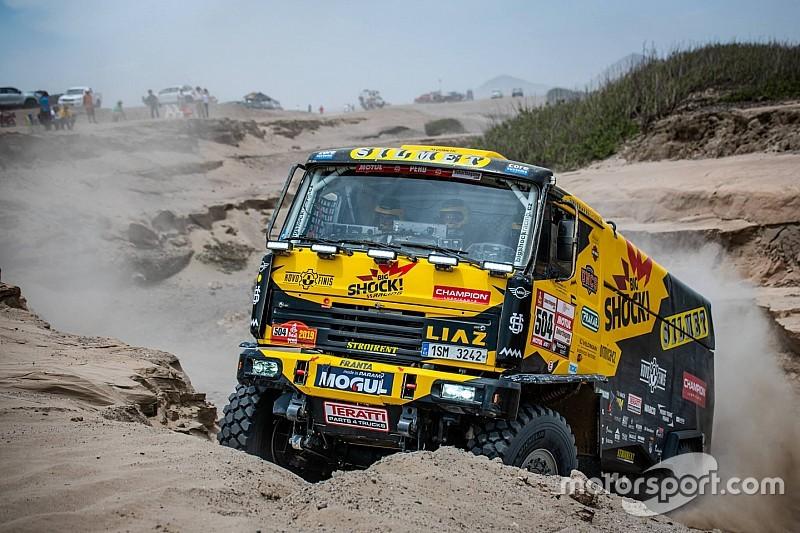 Дакар-2019, етап 4: найкращі світлини вантажівок